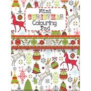 Christmas Mini Adult Colouring Books Asst (XMAC01-02)