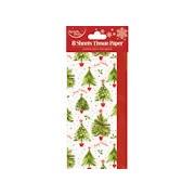 Xmas Tree Tissue Paper 8sht (X-23976-TP)