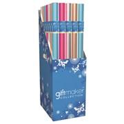 Giftmaker Plain Fashion Foil Asstd Gift Wrap 3mt (Y8GM123N)