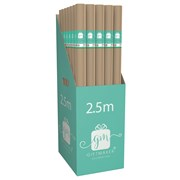 Giftmaker Kraft Roll Wrap 2.5mt (Y9GM123L)