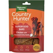 Natures Menu Superfood Bar Chicken With Coconut & Chia Seeds 100g (CHTCC)