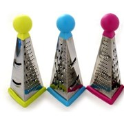 Zeal Colours 3 Sided Grater Assorted (CPG08AS)