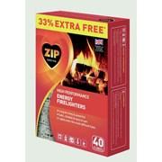 Zip Firelighters Block +33% 40s (SB091212)