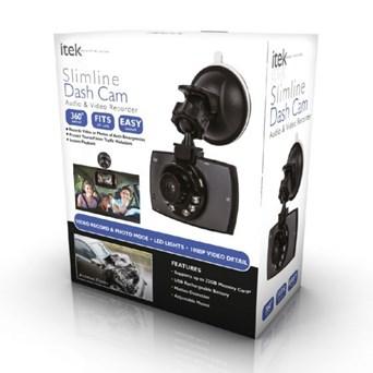 Itek Slimline Hd Car Dash Cam (I67001)