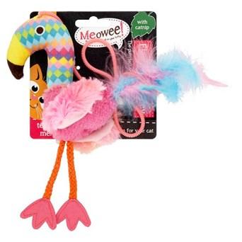 Goodgirl Meowee Flamingo Cat Toy 200mm (17184)