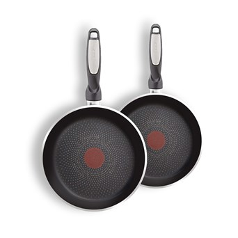 Tefal Harmony Twin Pack Frying Pans 20cm & 26cm (C2599042)