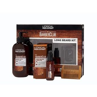 Loreal Men Exp Long Hair Barberclub Xmas Gift Set (090918)