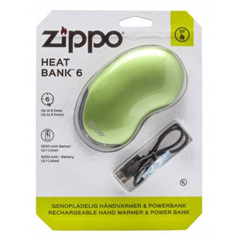 Zippo 6 Hour Heatbank Green (2005837)