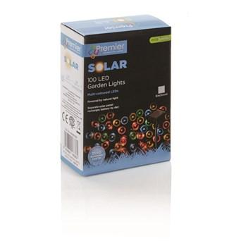 100 Multi Led Solar String Lights (BS171701M)