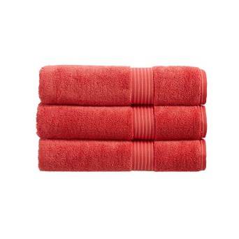 Christy Supreme Hygro Guest Towel Coral (10212740)