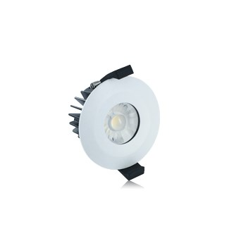 Integral 6w 3000k Firerated Downlight Dimmable White (ILDLFR70B001)