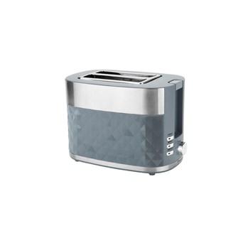 Presitge Prestige Grey Prism Diamond 2 Slice Toaster (47171)