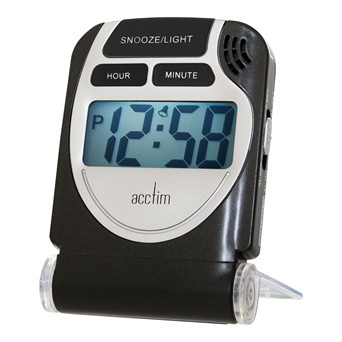 Smartlite Travel Lcd Alarm/torch (13253)